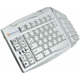 Goldtouch Adjustable Keyboard - Keyboard - USB - putty