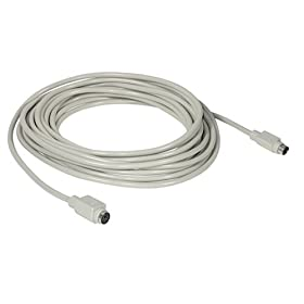 Cables To Go - 09470 - 25ft PS/2 M/F Keyboard Mouse Extension Cable