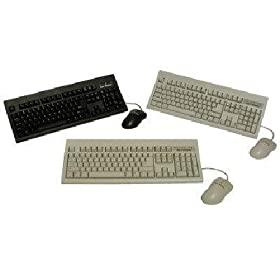 Keytronics 1197463 USB Cable Keyboard & Optical Mouse