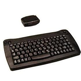 88-KEY Wireless Ir USB Touchpad Mini Black Keyboard