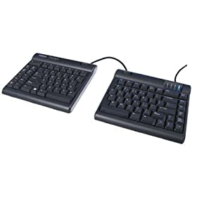 Kinesis Ergonomic Keyboard, Freestyle solo USB, Black by DS International